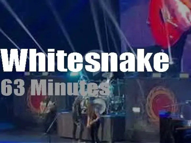 Whitesnake rock Singapore (2020)
