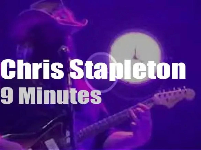 Chris Stapleton celebrates Merle and Prince (2016)