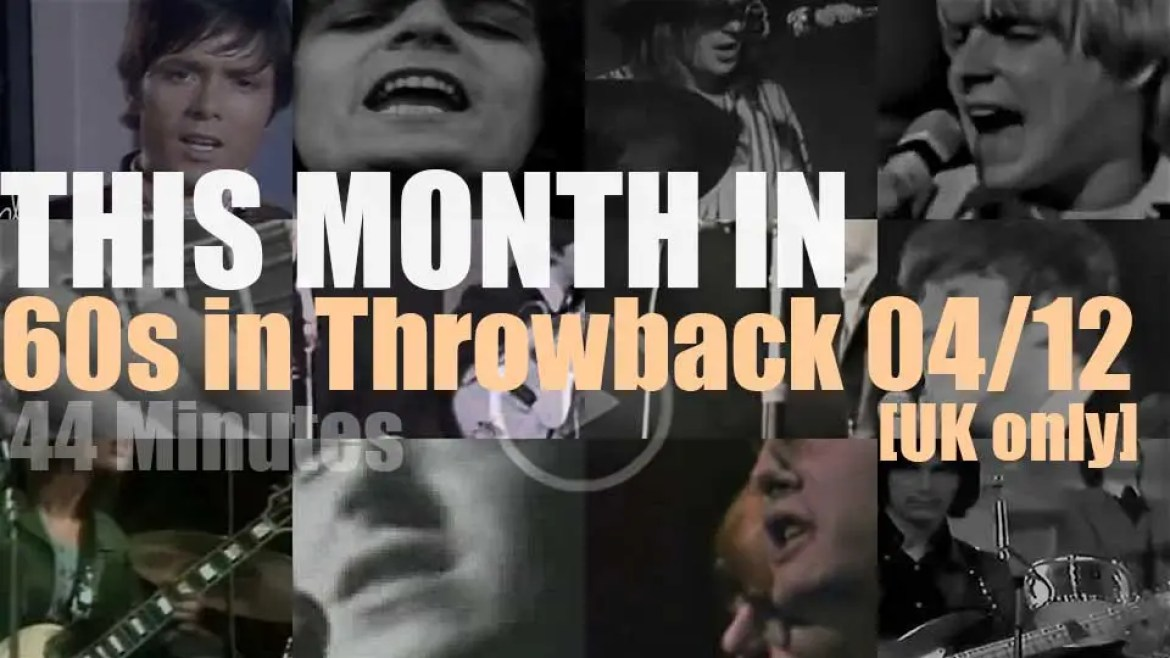 This month In  '60s Throwback' (UK only) 04/12