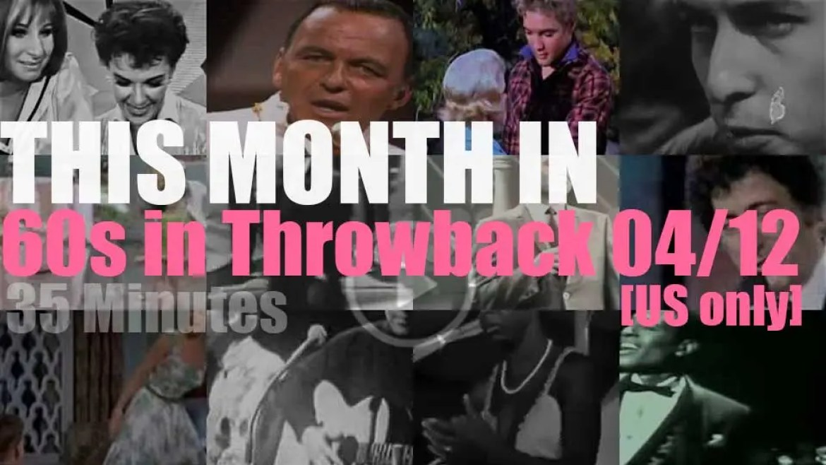 This month In  '60s Throwback' (USA only) 04/12