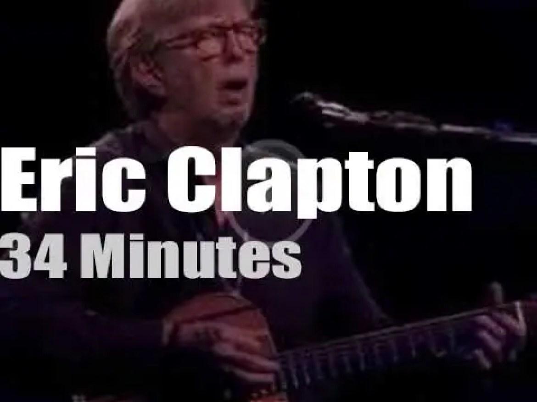 Cellist Jan Vogler sits in with Eric Clapton in Dresden (2019)