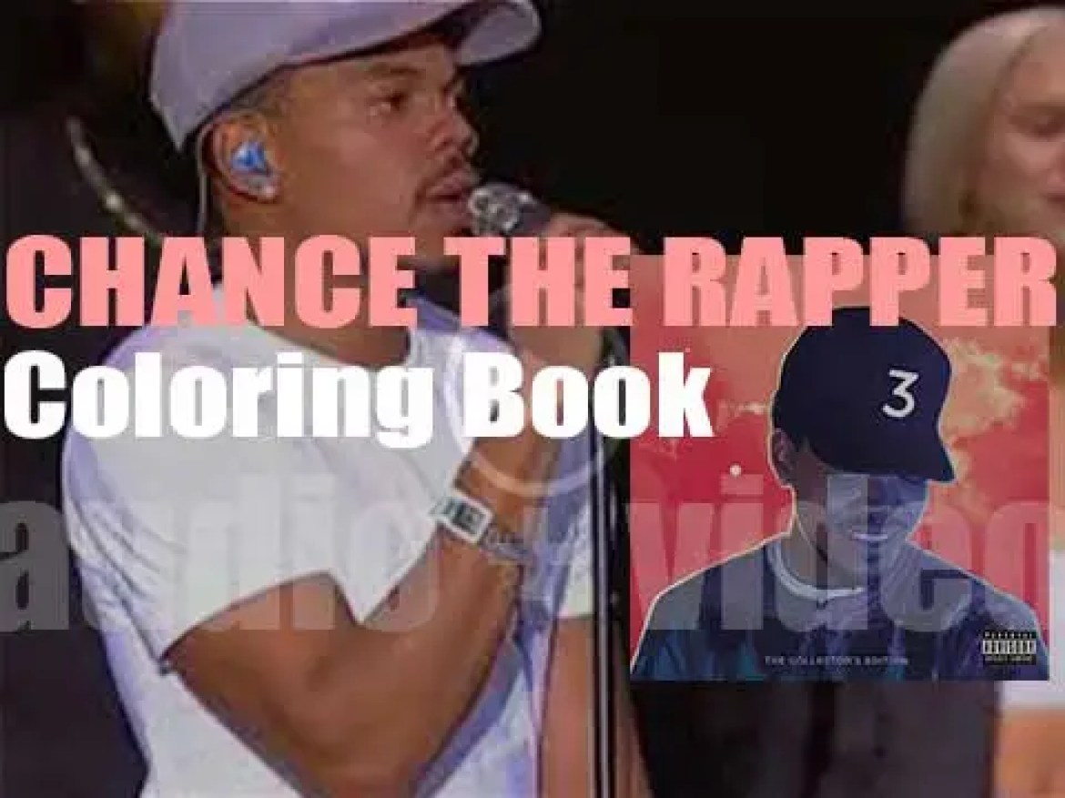 Chance the Rapper releases his third mixtape : 'Coloring Book' featuring Kanye West, Justin Bieber and  2 Chainz among others (2016)