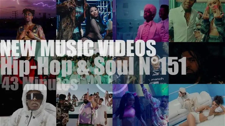 Hip-Hop & Soul N°151 – New Music Videos