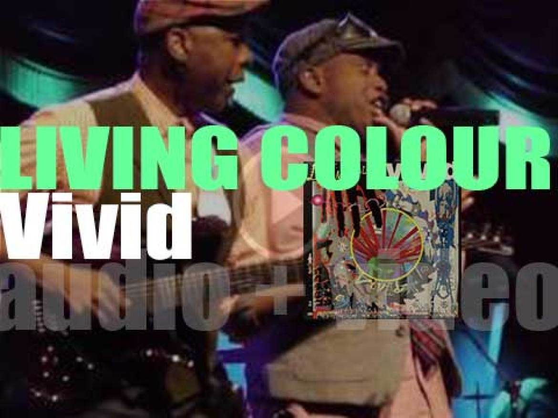 "Epic publish Living Colour's  debut studio album : ' Vivid"" partially produced by Mick Jagger (1988)"