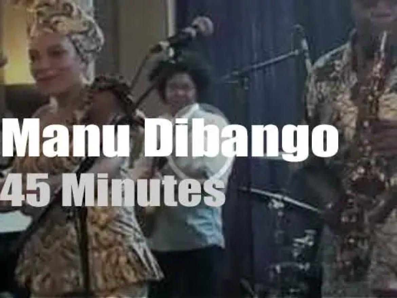 Manu Dibango celebrates his country National Day (2012)