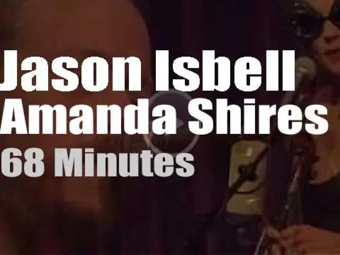On Web TV today, Jason Isbell & Amanda Shires are live from Nashville (2020)