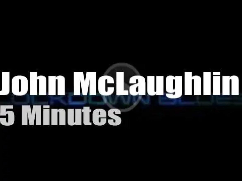 On Web TV today, John McLaughlin et al have the 'Lockdown Blues'  (2020)