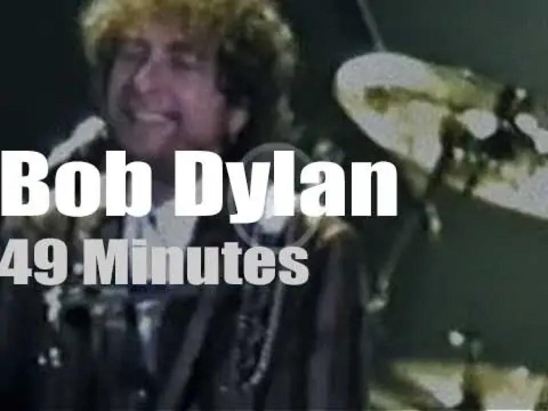 Bob Dylan stops in Barcelona  (1989)