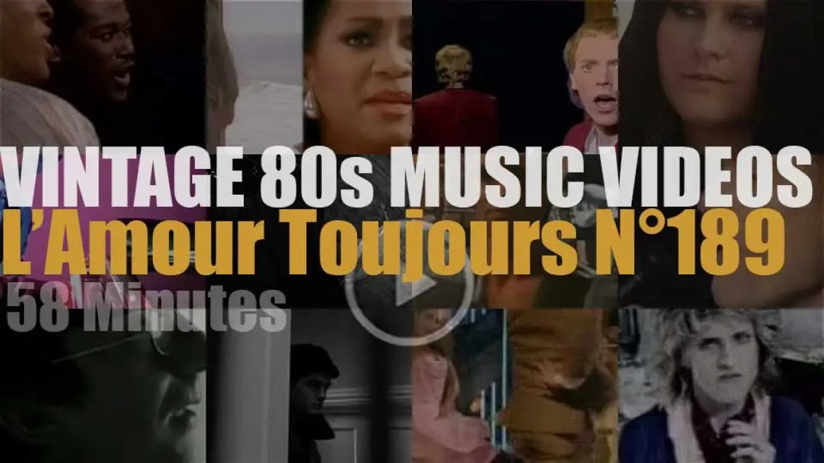'L'Amour Toujours'  N°189 – Vintage 80s Music Videos