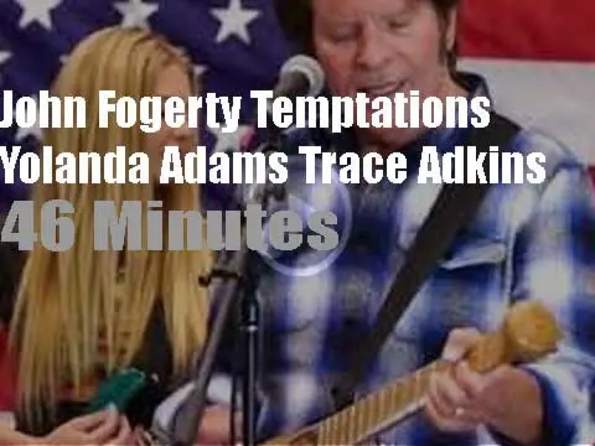 On TV today, John Fogerty, The Temptations et al at 'A Capitol Fourth' (2020)