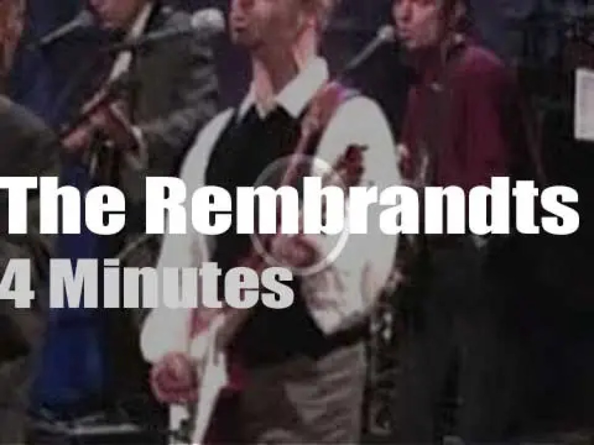 On TV today, The Rembrandts with David Letterman (1995)
