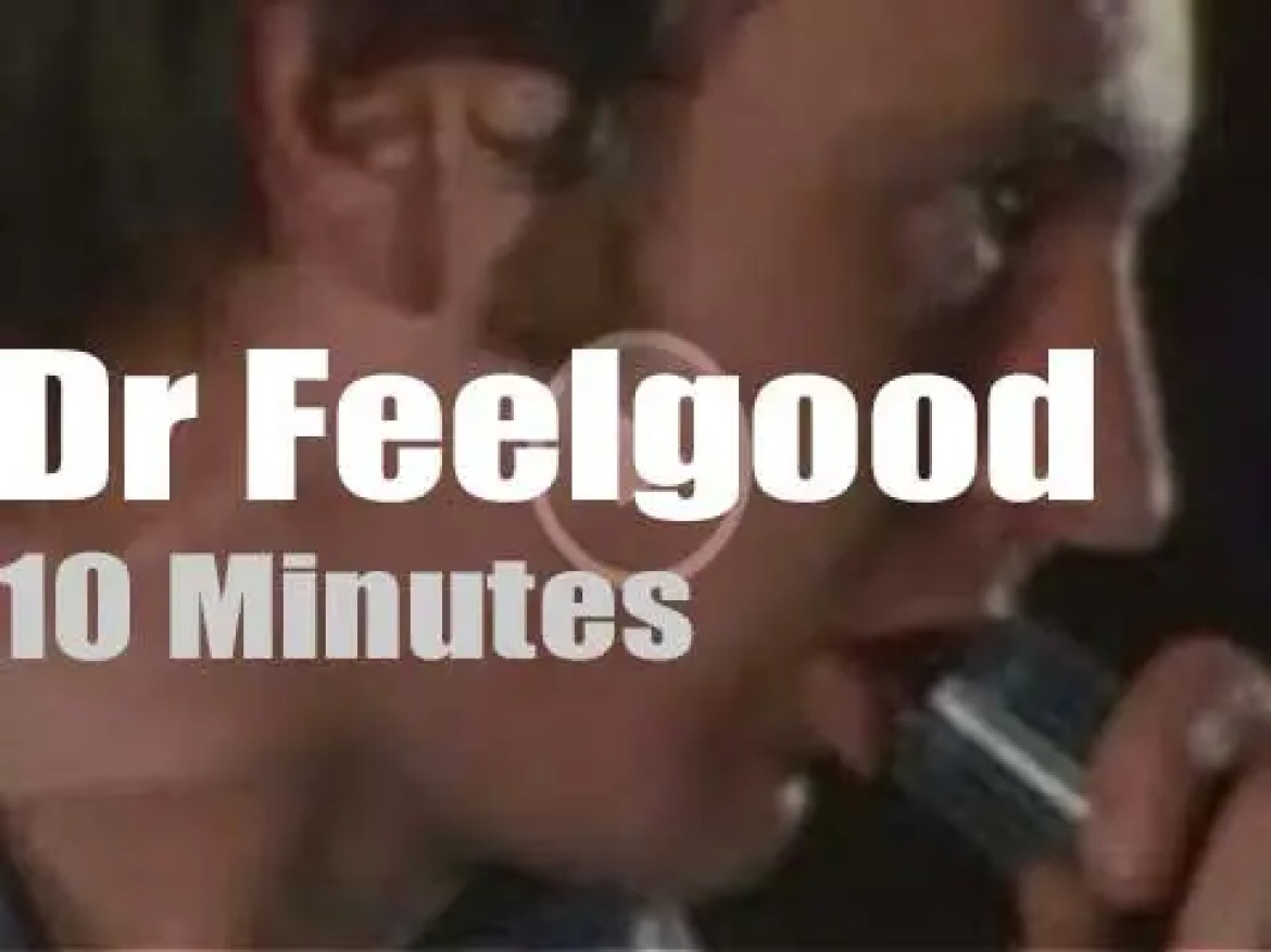 Dr Feelgood rock Finland (1975)