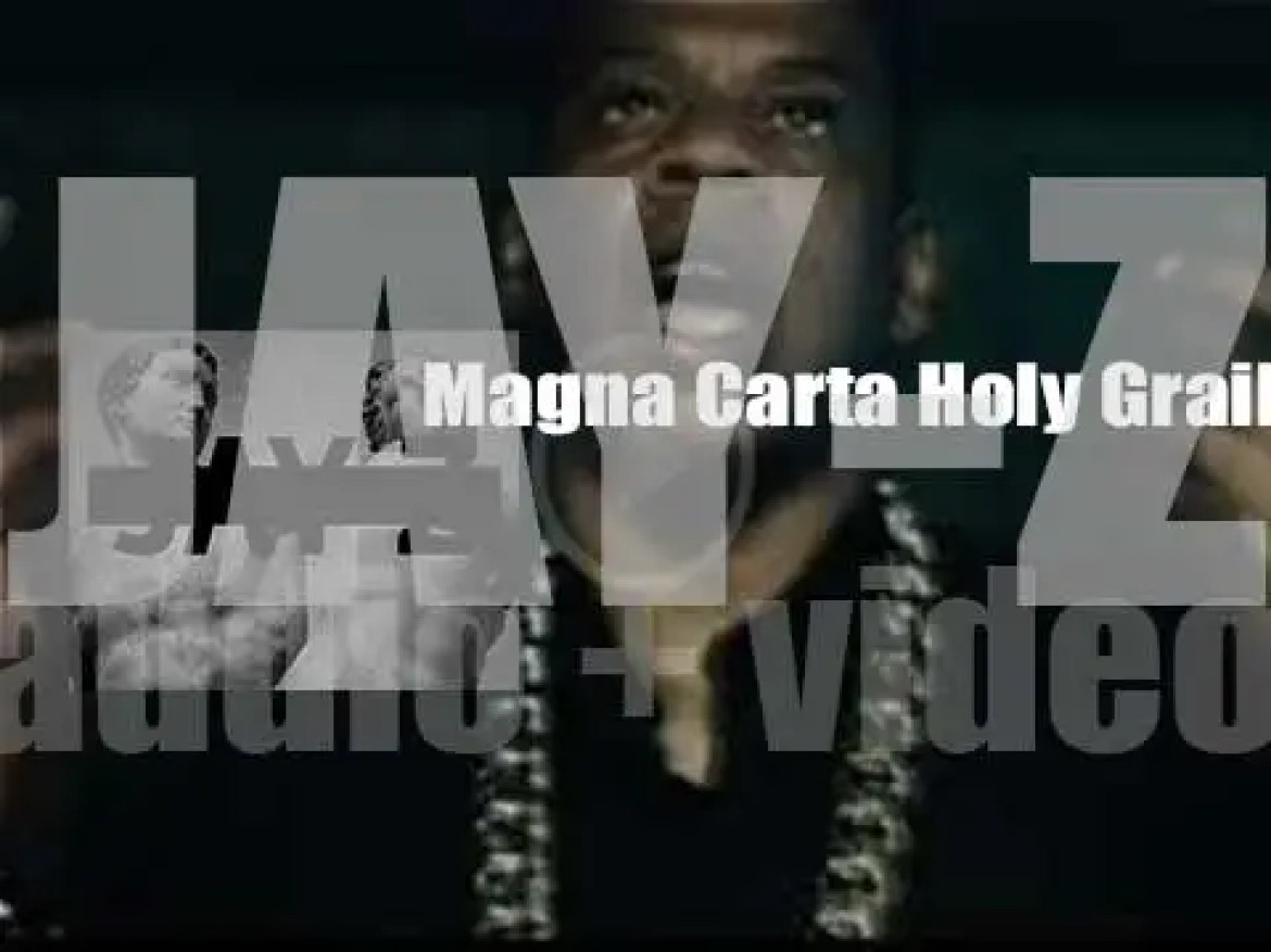 Jay Z's releases 'Magna Carta Holy Grail,' his twelfth studio album  featuring Justin Timberlake, Beyoncé, among other guests (2013)