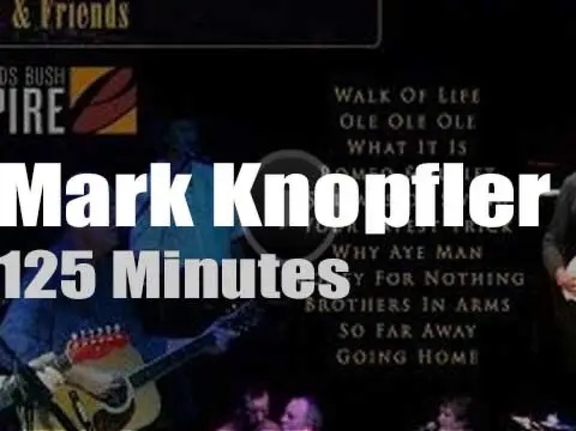Mark Knopfler gather his Friends to save the babies (2002)