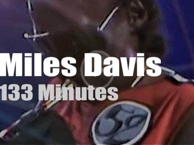 Miles Davis plays at North Sea Jazz (1985)