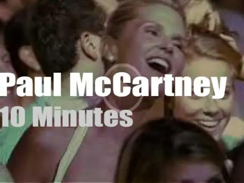 Paul McCartney comes back to Shea Stadium (2008)