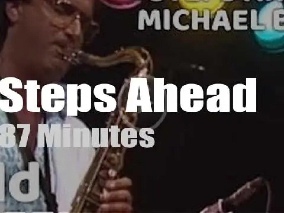Steps Ahead play at North Sea Jazz (1985)