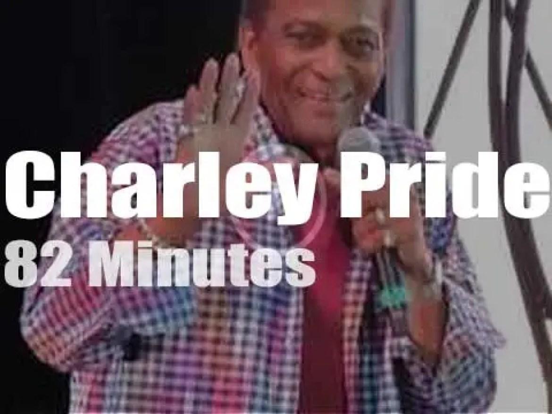Charley Pride sings at a Virginian county fair (2019)