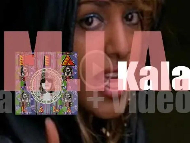XL Recordings publish M.I.A.'s second album : 'Kala' featuring 'Paper Planes' (2007)