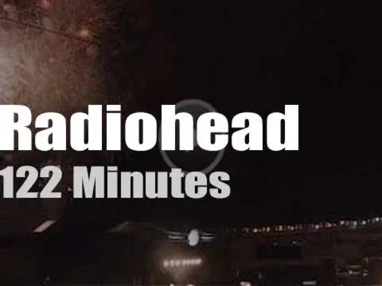 Radiohead attend a Japanese Summer festival (2016)