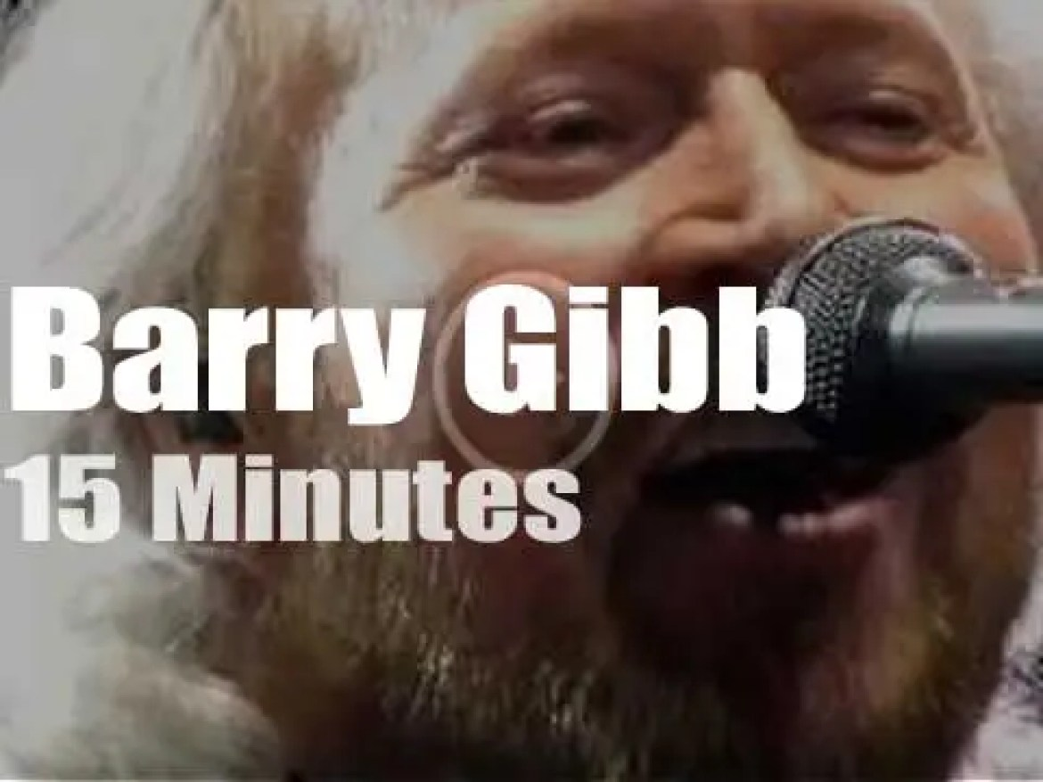 Barry Gibb comes to Dublin (2013)