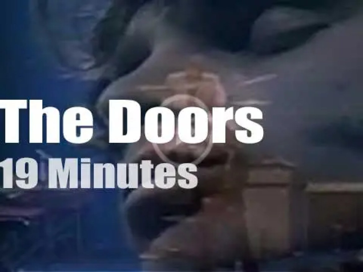 Canadian TV tapes The Doors (1969)