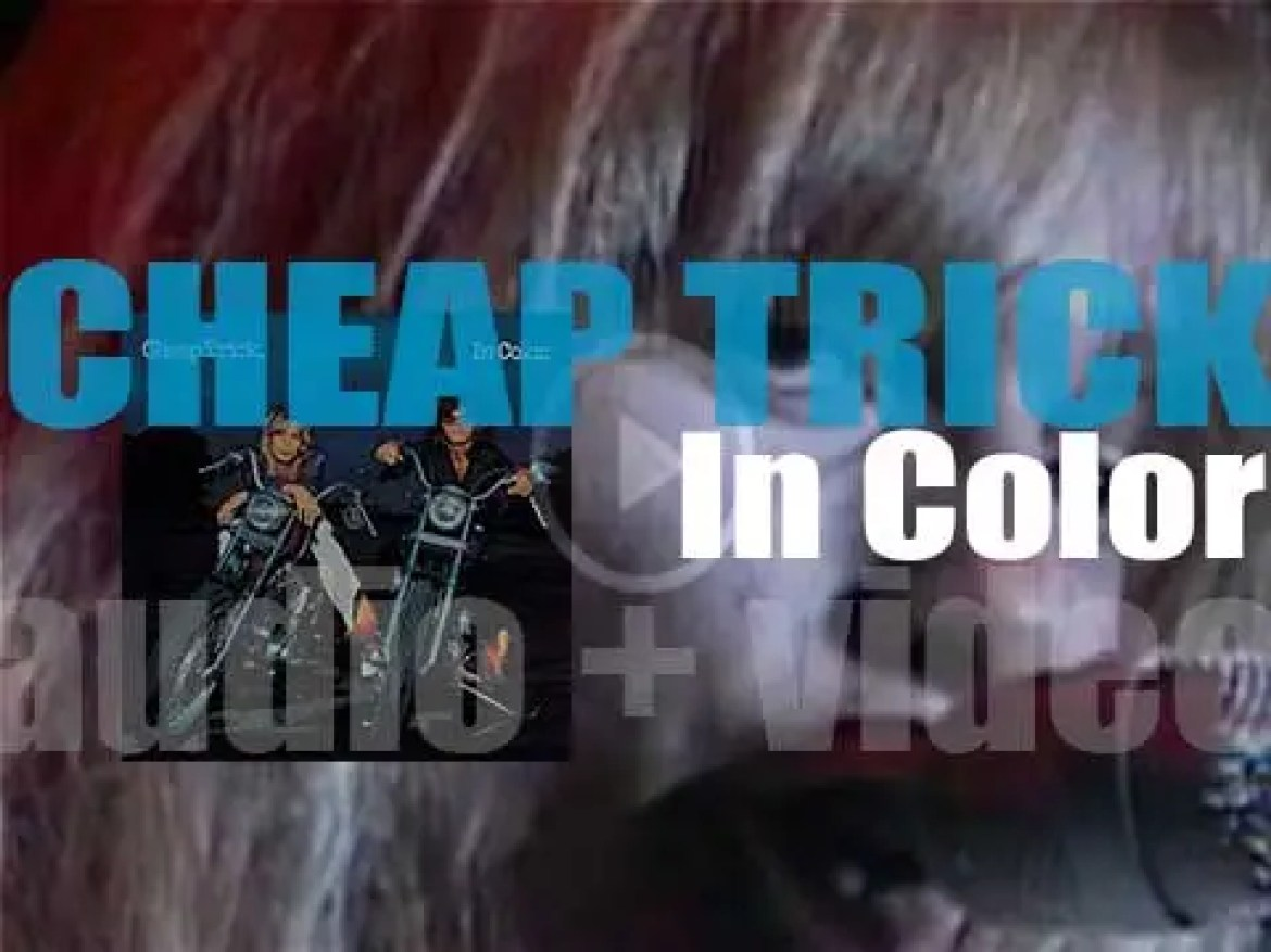 Epic publish 'In Color,' Cheap Trick's second album featuring 'I Want You to Want Me' (1977)