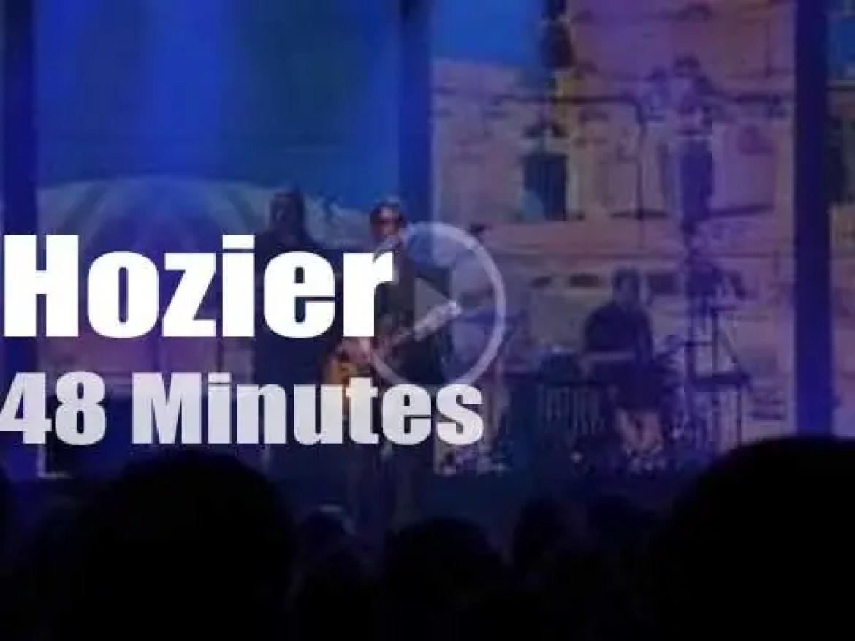 Hozier attends a London festival (2014)