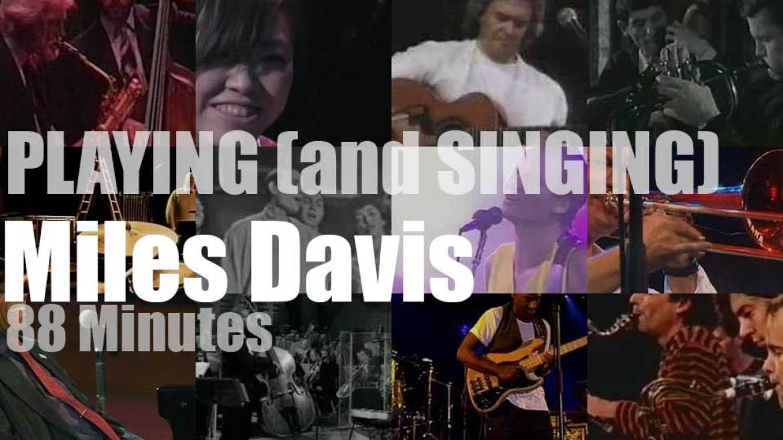 Playing (and Singing) Miles Davis