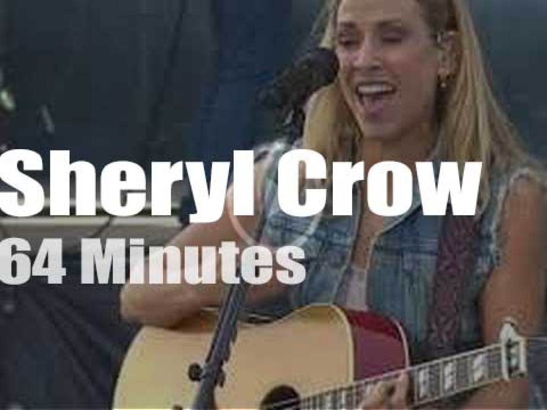 Sheryl Crow attends a Californian festival (2019)