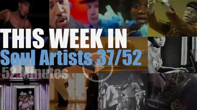 This week In Soul Artists 37/52