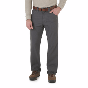 Wrangler's Riggs Technician pant, available in 4 colors, are the perfect hiking pants.