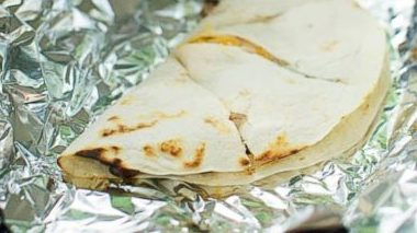 Tin Foil Quesadillas