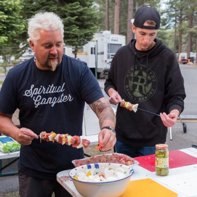 Guy Fieri's New Show Follows His Family on an RV Adventure