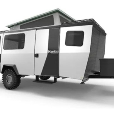 "TAXA Introduces Sleek 2,300 Pound ""Mantis"" Hybrid"
