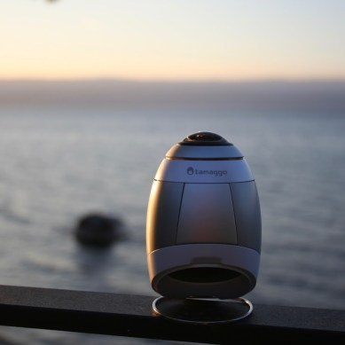 New Cam from Tamaggo Enables Live Streaming from Wherever You Are in 360 Degrees