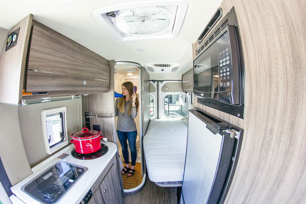 Winnebago Partners with Volta for Electric Vehicle-Grade Power System in 2019 Travato