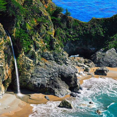 A Banner Year For California Waterfalls: Campgrounds that Get You Close