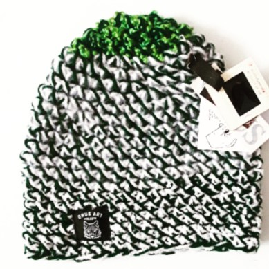 Gear | Handmade Crochet Beanies from Onus Art Projects