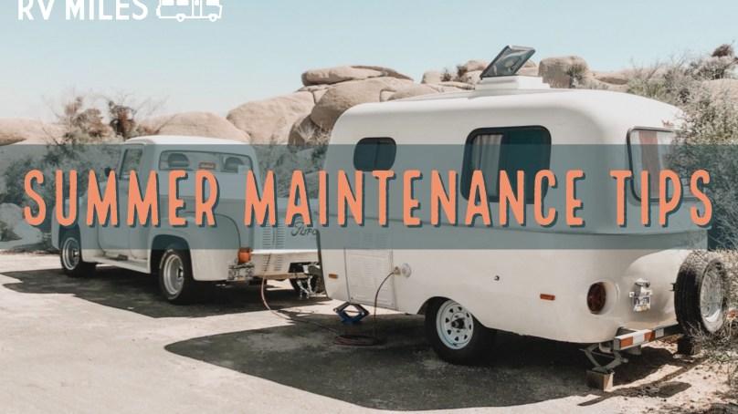 Summer RV Maintenance Tips
