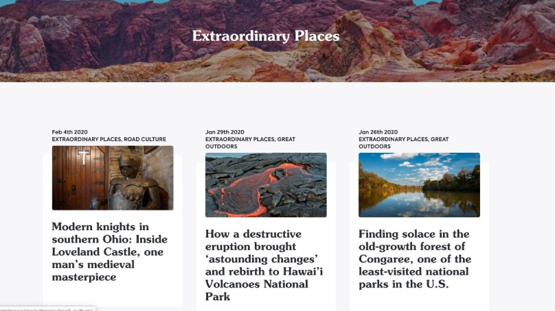 Celebrate Extraordinary Places, Win a Lifetime Roadtrippers PLUS