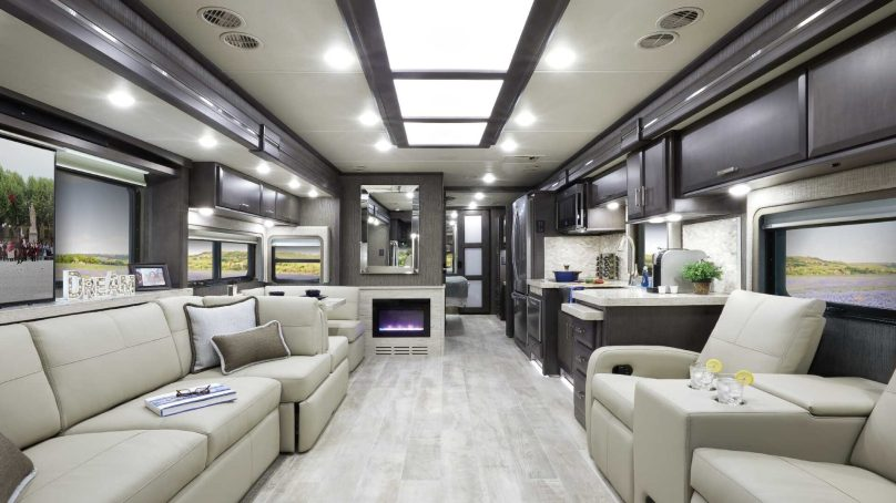 Thor Motor Coach Revamps Class A Diesel Styling
