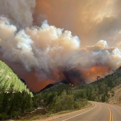 Wildfires Force Closures in Rocky Mountain National Park