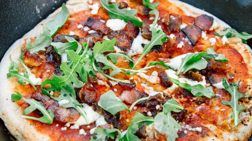 5 Easy Cast Iron Campfire Pizzas