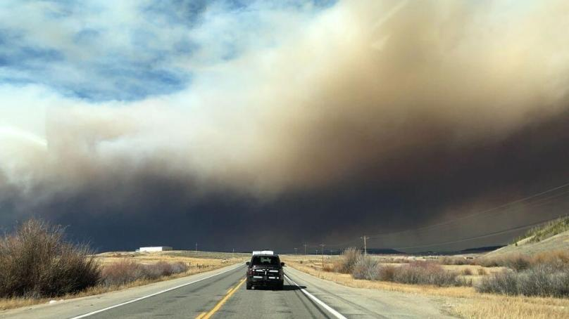 Rocky Mountain Closes as East Troublesome Fire Enters Park