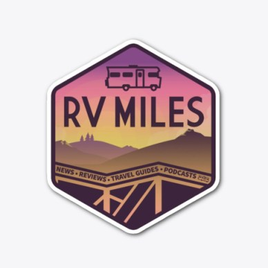 This image has an empty alt attribute; its file name is RVMiles-sticker.jpg