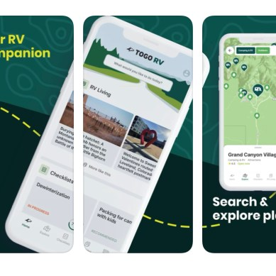 OvernightRVParking.com Joins Togo RV App
