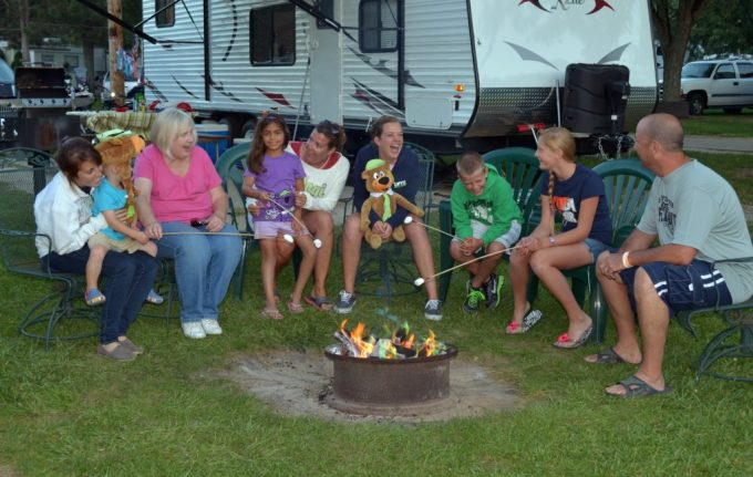 Record number of campers visit Jellystone Campground in 2021