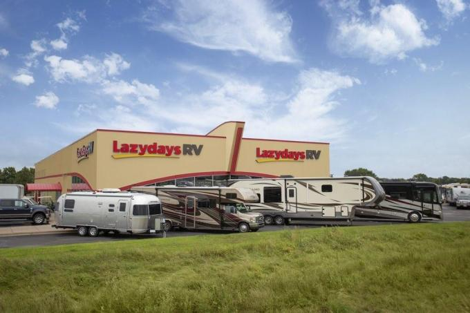 Lazydays dealerships quarterly profits up 98% from the same period last year.