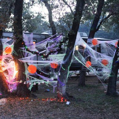 Spooktacular Halloween Campgrounds & Fall Activities